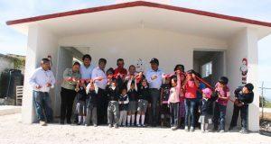 Comuna de Tepexi de Rodríguez construye aulas para preescolar