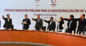 Gali y Moctezuma instalan consejo consultivo para descentralizar SEP