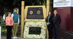 Cumple Puebla 31 años en lista de patrimonio mundial de Unesco