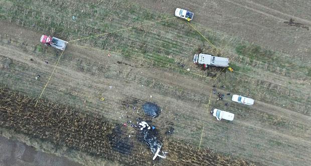 Reitera AMLO: se investigará de fondo caída de helicóptero en Puebla