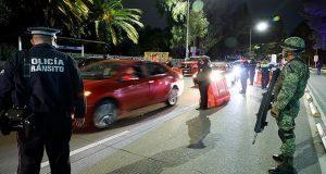Ejército se suma al operativo alcoholímetro en la ciudad de Puebla