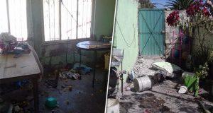 Explosión en local de Quecholac deja dos menores y una mujer heridos