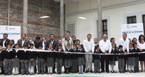 Gali entrega primaria Héroes de la Reforma con inversión de 16 mdp