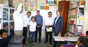 Gobierno estatal y SEP anuncian centro integral Conafe en Tlacotepec