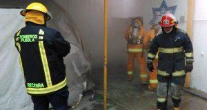 Certifican a 25 bomberos en combate de incendios estructurales