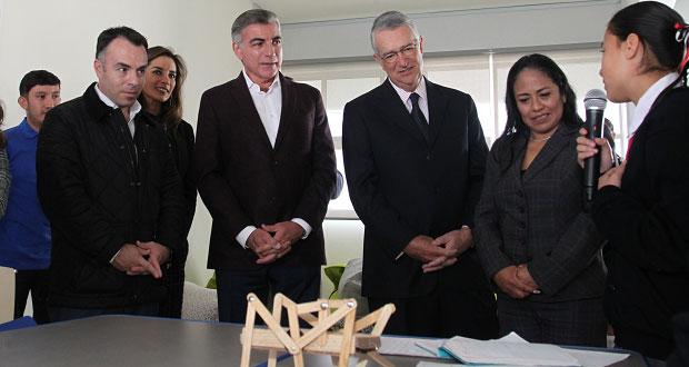 Inauguran escuela de talentos Azteca-Puebla en Cuautlancingo