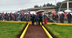 Inauguran parque público en Zacatlán con inversión de 800 mil pesos