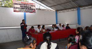 Inicia en Ixcaquixtla edificación de 32 cuartos para familias pobres