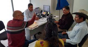 Ixcaquixtla pide apoyo a Ceaspue para mejorar servicio de agua