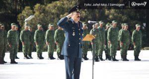 El poblano Alfredo González asume el mando de la 25 zona militar