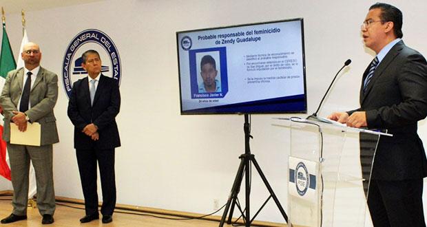 Detenido, presunto feminicida de Zendy Guadalupe de 17 años