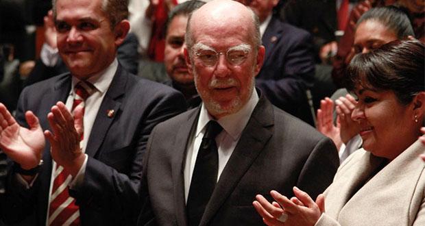 Tras 2ª ronda, Senado elige a Luis González como ministro de SCJN