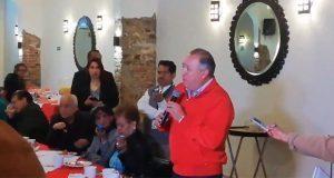 Lorenzo Rivera deja entrever interés para dirigir PRI de Puebla