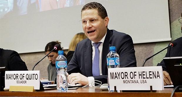 Mauricio Rosas, el alcalde de Quito que trabaja en pro de refugiados