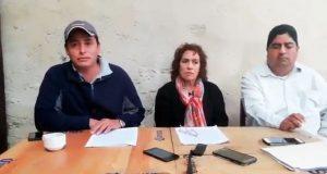 Fosyppue pide seguir luchando y reprueba arribo de Ejército a Cuetzalan