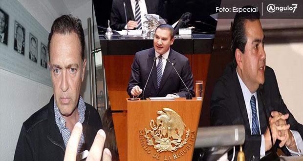 Roberto Moya va a curul de RMV en Senado; Mauricio Kuri lideraría bancada