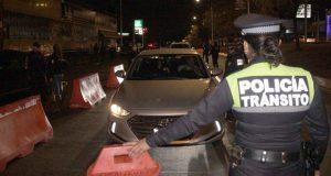 En fin de semana, remiten 22 vehículos al corralón por alcoholímetro