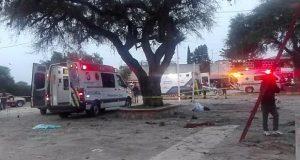 Suman 8 muertos y 17 hospitalizados por explosión en Querétaro