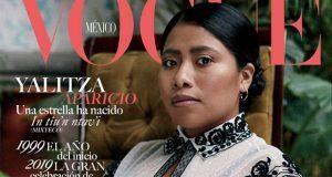 Actriz oaxaqueña Yalitza Aparicio conquista portada de Vogue