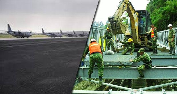 Aeropuerto en Santa Lucía será construido por Ejército: AMLO