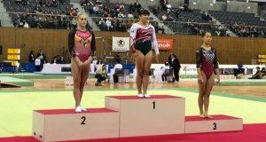 Gimnasta mexicana Alexa Moreno se cuelga una más, ahora de oro Japón