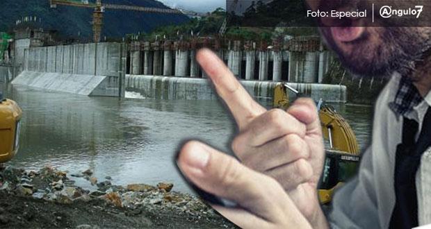 Denuncian hostigamiento contra opositor de hidroeléctrica en Sierra Norte