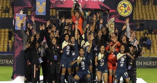 América, campeón de la Liga MX Femenil tras vencer a Tigres