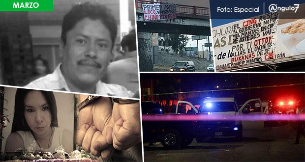 Anuario 2018: en marzo, asesinan a precandidato y balacera en Clavijero
