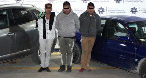 Ssptm detiene a tres supuestos asaltantes de La Gran Bodega