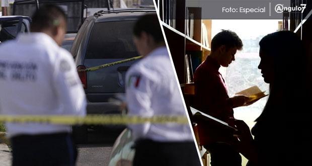 En 2018, siete estudiantes de Puebla mueren en hechos violentos