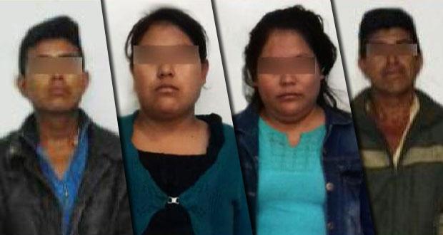 Procesan a 4 presuntos secuestradores y asesinos de niña Flor Itzel. Foto: Especial