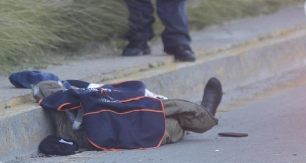 Atropellan a hombre que no usó puente peatonal en la Atlixcáyotl