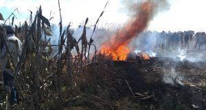 Se desploma avioneta en Coronango; Martha Erika y RMV irían a bordo: AMLO