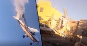 Captan caída de avioneta que mató a 4 tripulantes en Sinaloa