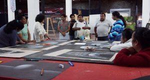 Antorcha organiza primer curso de dibujo en La Concha de Atlixco