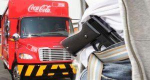 Por el mercado Morelos, detienen a banda por robar camión repartidor