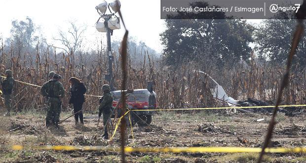 EU también investigará caída de helicóptero en Puebla