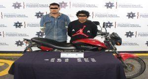 Ssptm detiene a tres hombres con posible droga