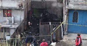 Fallecen 6 niños y un adulto en incendio de casa en Iztapalapa