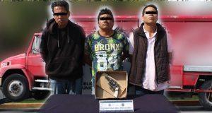 Ssptm detiene a 3 por secuestro y robo en la colonia México 68