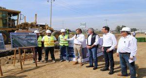 Inicia construcción del paso superior en la México-Puebla