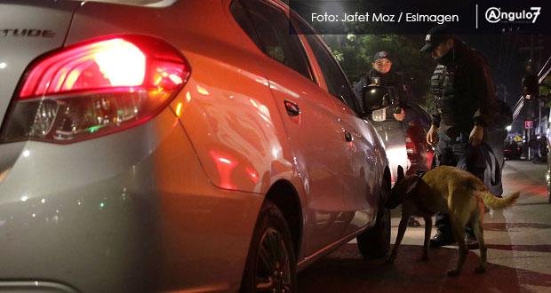 En fechas decembrinas, conductores ebrios aumentan 20% en ciudad de Puebla