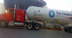 Sedena y SSP decomisan pipas con 90 mil litros de gas LP en Amozoc