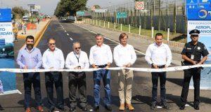 Con inversión de 50 mdp, abre renovado acceso al aeropuerto de Puebla