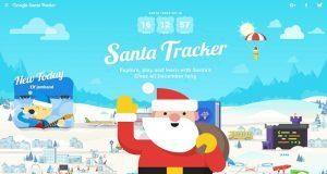 Google rastrea a Santa Claus para que sepas dónde está