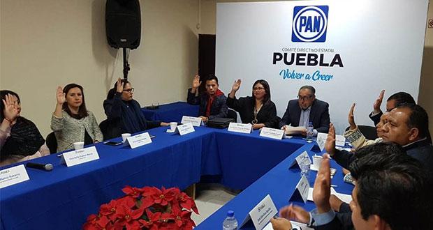Aprueban a integrantes de cinco secretarías del CDE del PAN