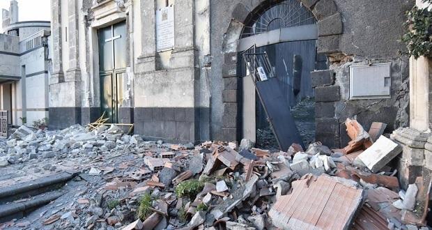 Sismo de magnitud 4.8 despierta a habitantes de Catania, en Sicilia