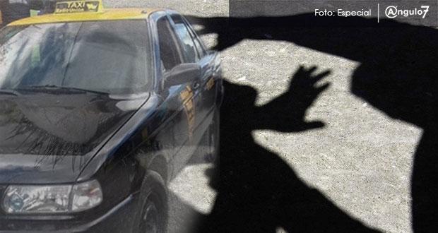 Taxista abusa sexualmente de menor y la abandona en Ocoyucan