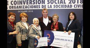Gali entrega 10.3 mdp para actividades de organizaciones sociales