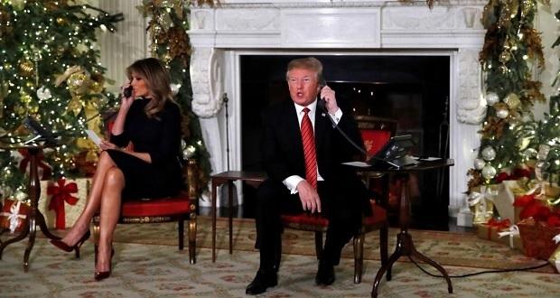 Trump cuestiona a niño de 7 años si cree en Santa Claus